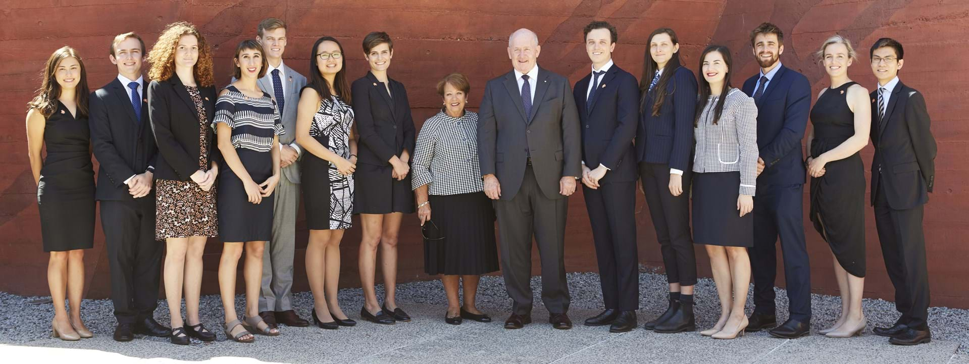 Presentation Ceremony of the 2019 John Monash Scholars and His Excellency General the Honourable Sir Peter Cosgrove AK MC (Retd) Governor-General of the  Commonwealth of Australia and Her Excellency Lady Cosgrove